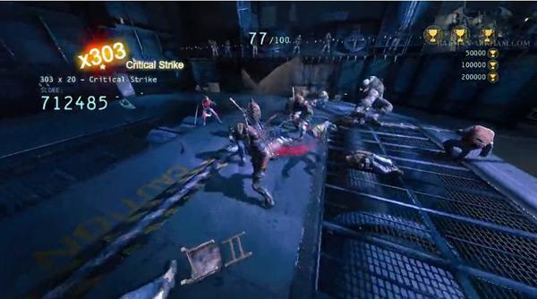 蝙蝠侠阿甘起源丧钟完美连击无伤打法视频攻略