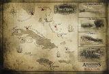 刺客信条4黑旗拿索藏宝图的获得方法和地点