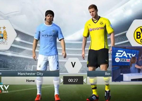 FIFA14抢先试玩解说视频欣赏 先睹为快