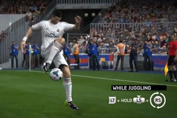 FIFA14花式足球教学视频攻略 动作美如画