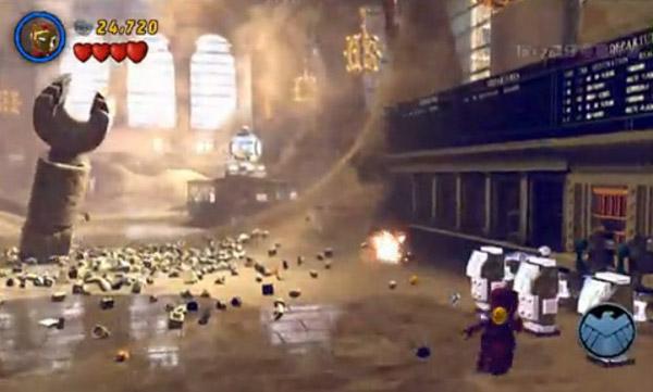 乐高漫威超级英雄游戏试玩评测视频