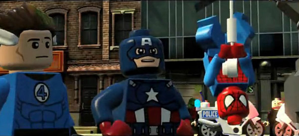 乐高漫威超级英雄GC2013预告片 上市日期将近