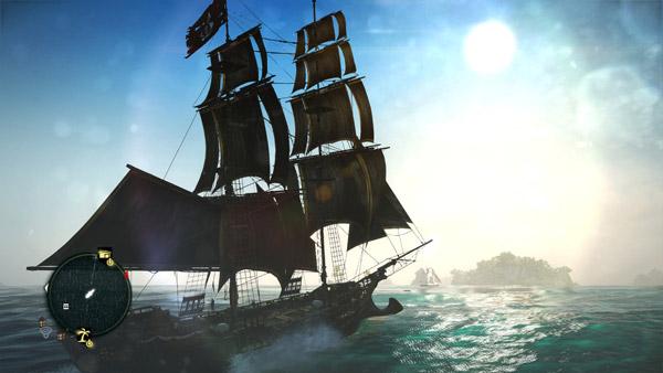 刺客信条4黑旗传奇船只另类打法视频攻略