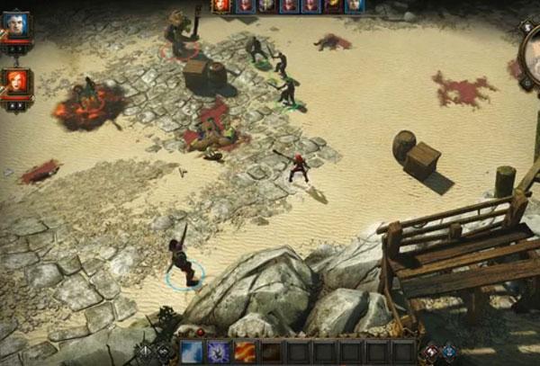神界3原罪测试版游戏试玩视频 正宗神界续作