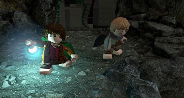 乐高指环王娱乐试玩解说视频 一个屌丝拯救世界的故事