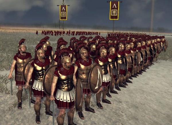 罗马2全面战争马其顿战役实况解说视频攻略