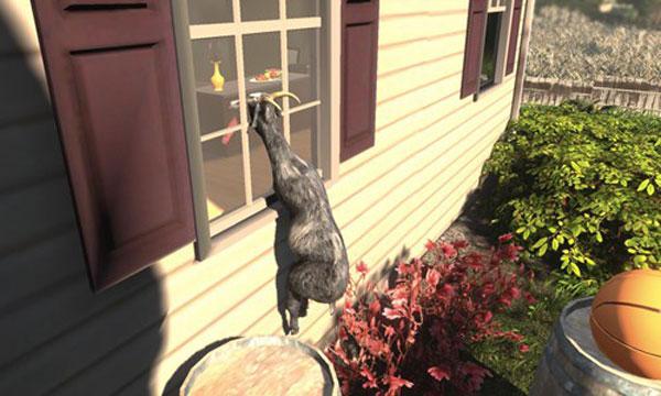 模拟山羊试玩娱乐解说视频 玩虐模拟羊驼
