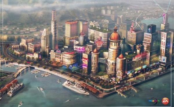 模拟城市5未来之城城市规划游戏解说视频攻略