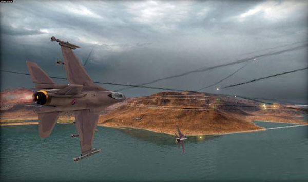 战争游戏红龙海战模式一挑三极难难度电脑视频攻略