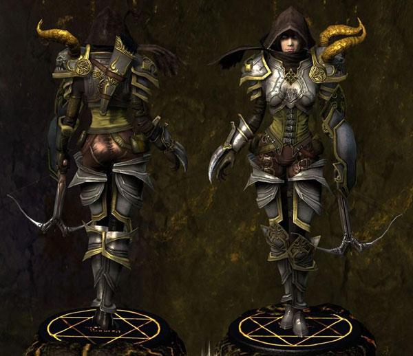 暗黑破坏神3夺魂之镰恶魔猎手双能转换BD视频攻略