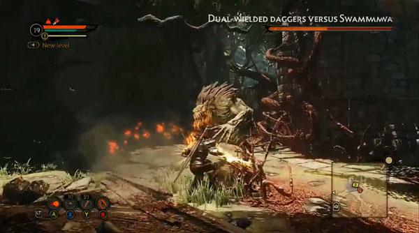 火焰限界实机战斗演示视频 各种BOSS战震撼打斗