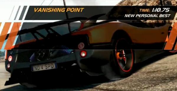 极品飞车14热力追踪帕加尼试驾世界记录视频攻略