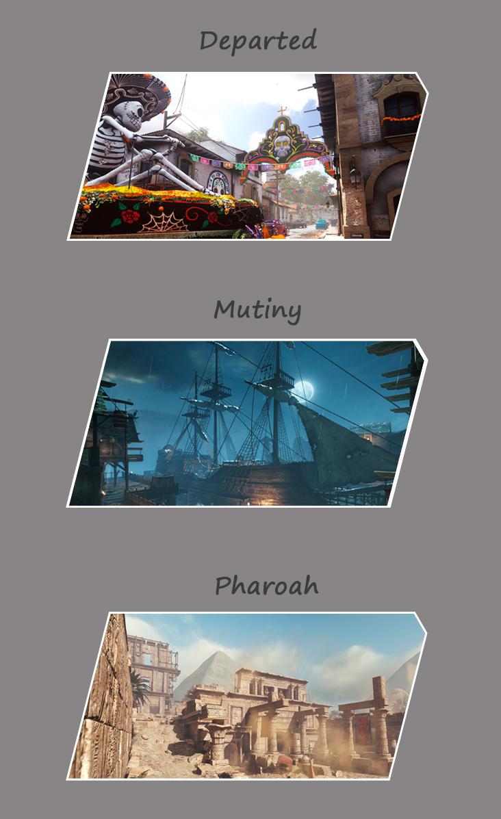 《使命召唤10:幽灵》最新DLC概念设计图曝光