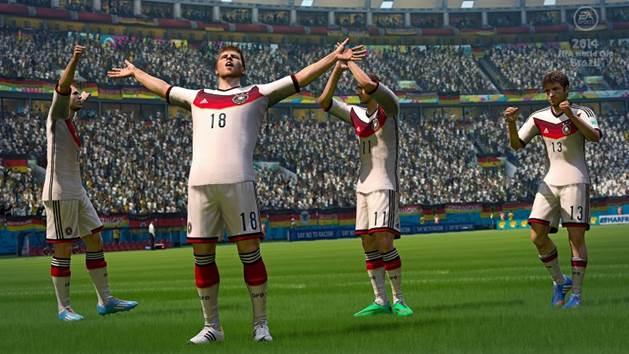 EA公布《FIFA14》世界杯模拟赛 德国战胜巴西夺冠