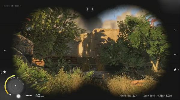 狙击精英3实机游戏试玩演示视频 让子弹飞一会