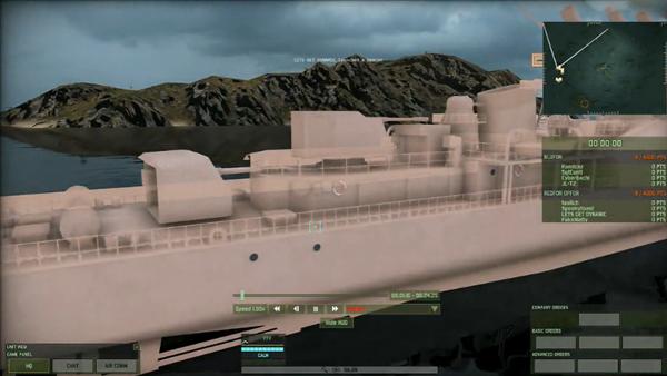 战争游戏红龙海战模式实况娱乐解说视频攻略