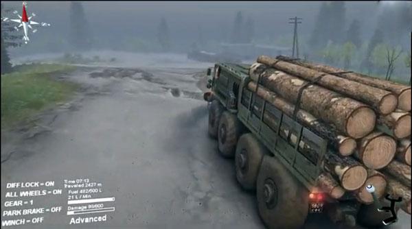 旋转轮胎娱乐试玩视频攻略 重型卡车的拉力比赛