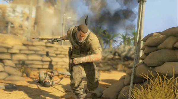 狙击精英3娱乐实况解说视频攻略 精英难度全流程