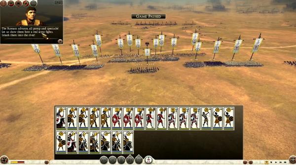 罗马2全面战争坎尼战役非常困难难度视频解说