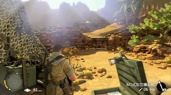 狙击精英3娱乐试玩解说视频攻略 手雷堪比原子弹