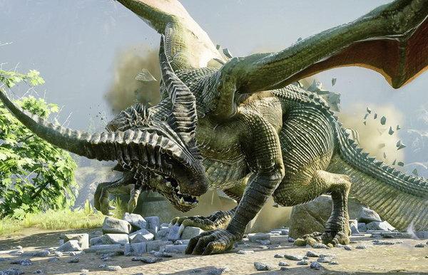 震撼来袭 《龙腾世纪3:审判》全新演示血战巨龙