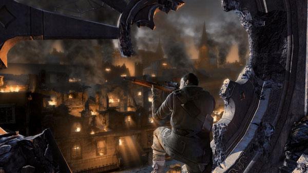 狙击精英3刺杀希特勒DLC最高难度通关视频攻略