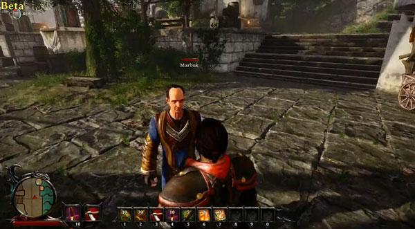 崛起3泰坦之王游戏试玩演示视频 这才是大欧美RPG游戏