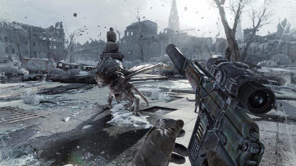 《地铁:归来》高清精美游戏截图 展示末日后的世界
