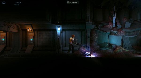 暗物质试玩娱乐解说视频 史上最萌怪物的横版射击游戏