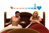 《模拟人生4》最新游戏演示 享受游戏里的床笫之欢
