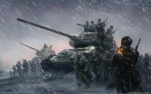 《英雄连2》苏军坦克性能与真实资料对比