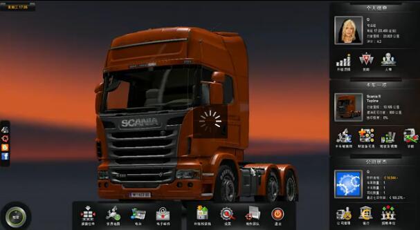 非洲撒哈拉沙漠 欧洲卡车模拟2流程视频