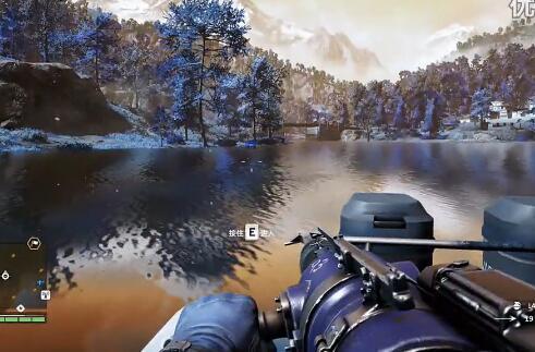 《孤岛惊魂4》荒漠高原捕鱼教学演示视频攻略