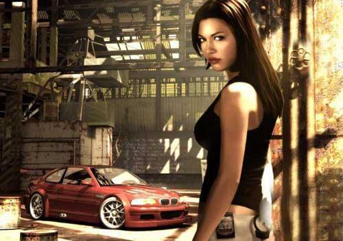 《极品飞车9:最高通缉》代言人介绍 美女Josie Maran