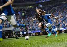 《FIFA15》传奇难度生涯球员进球视频集锦