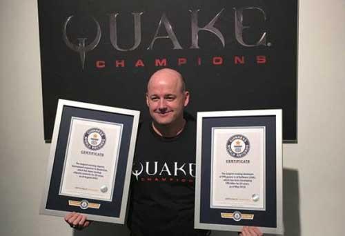 《毁灭战士》开发商一举拿下三项世界纪录 前无古人冠绝游戏业