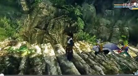 《古剑奇谭2》纪山躲怪拉怪群战视频