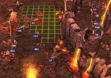 《英雄无敌5》黑暗精灵攻打恶魔城视频