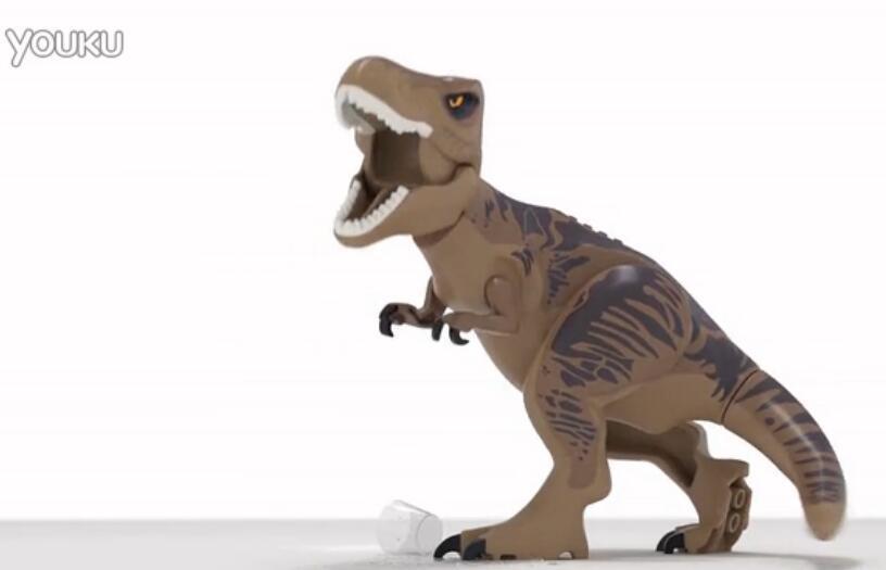 乐高侏罗纪世界首支预告 超萌小恐龙霸气来袭