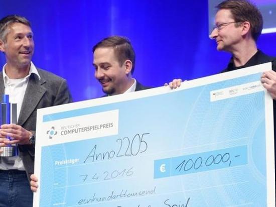 《纪元2205》荣获最佳德国游戏大奖!