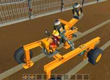 废品机械师铁路手车结构视频展示