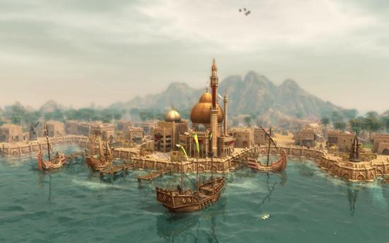 纪元1404威尼斯场景任务七海之殇视频