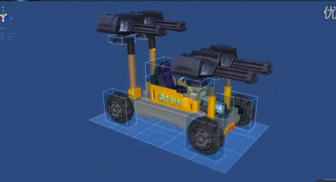 星球探险家汽车怎么做 汽车创建与赛车演示视频