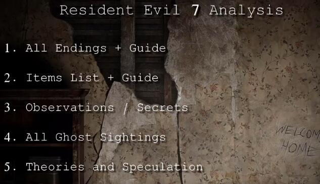 生化危机7DEMO版全结局解密视频赏析