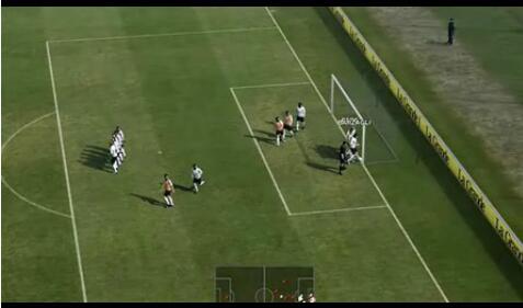 实况足球2012任意球教程视频