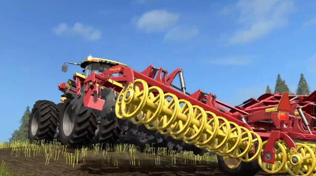 模拟农场17游戏试玩预告演示视频