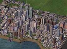 模拟城市4山顶建设居民区规划视频演示