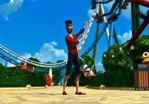 过山车之星法国迪士尼的太空山视频展示