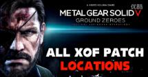 合金装备5:原爆点 全XOF徽章收集视频攻略