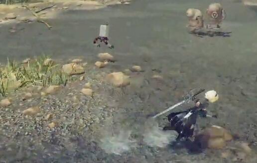 尼尔机械纪元联动最终幻想15武器演示视频 尼尔机械纪元武器演示视频